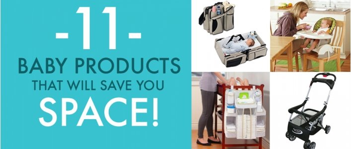 11 Space Saving Baby Products