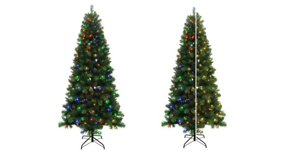 Holiday Living 7.5' Pre-Lit Christmas Tree $69 @ Lowes