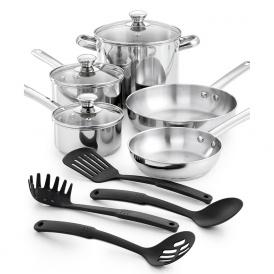 12-Piece Cookware Set Just $29.99 @ Macy's