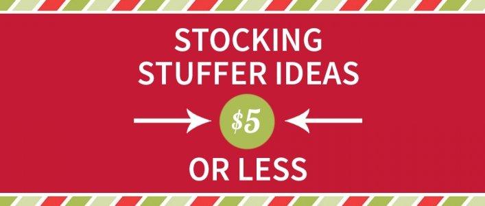 100 Cheap Stocking Stuffer Ideas