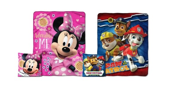 Fleece Character Throw & Pillow Set $10 @ Toys R Us