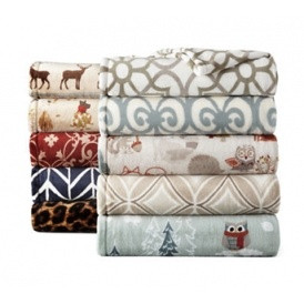 Home Velvet Plush Throws Just $7 @ JCPenney