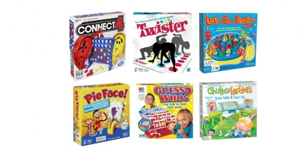 Family Board Games From $7 @ Kmart
