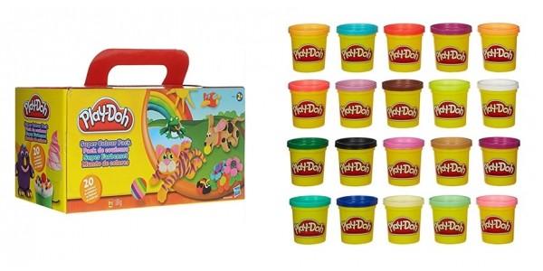 Play-Doh Super Color Packs $12.31 @ Kmart