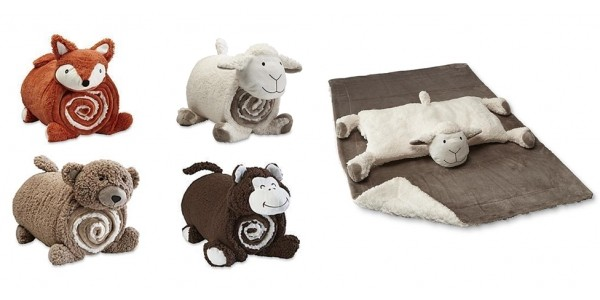 Cuddle Friend & Throw Sets $9 @ Sears