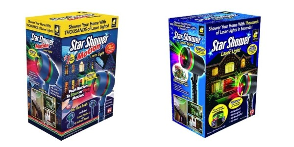 Star Shower Laser Light Projectors Half Off @ Target