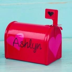 personalized valentine mailboxes just 9 jane - Valentine Mailboxes