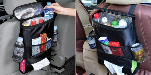 Car Seat Back Organizer with Built-In Cooler $9 @ Amazon