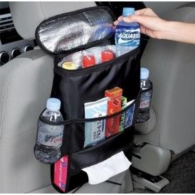 Car Seat Back Organizer w/ Cooler $9