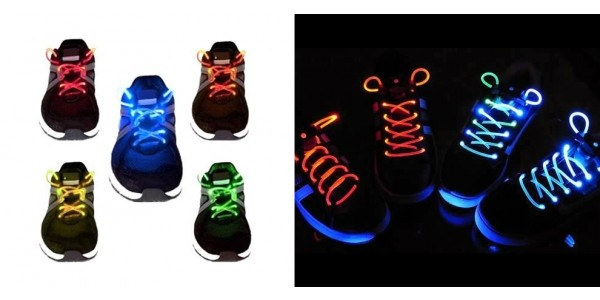 LED Waterproof Shoelaces just $4 @ GearXS