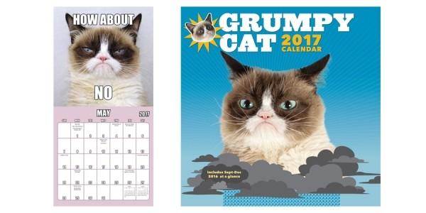 Grumpy Cat 2017 Calendar $6 Shipped @ Walmart