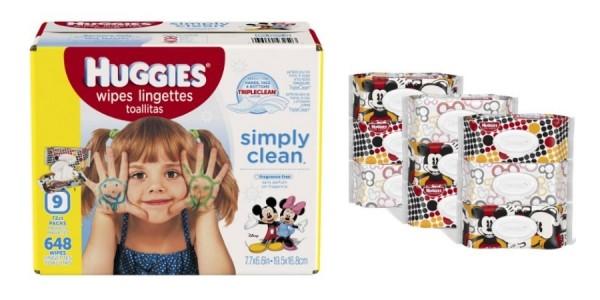 9 Packs Huggies Simply Clean Baby Wipes $8.99 @ Amazon