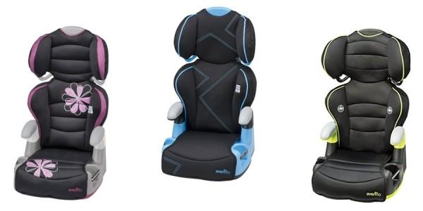 Evenflo Big Kid Amp Booster Car Seats $25 @ Walmart