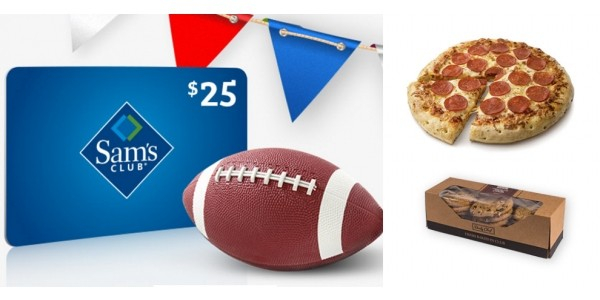 Sam's Club Membership + Free $25 Gift Card + Free Pizza AND Cookies ONLY $45