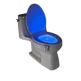 GlowBowl Toilet Nightlight $8 @ Amazon