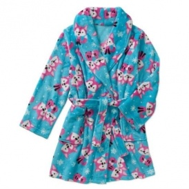 Girls Plush Robes $5 @ Walmart