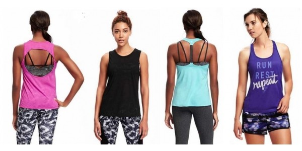 Today Only: Performance Active Tanks & Tees for Men & Women from $6 @ Old Navy