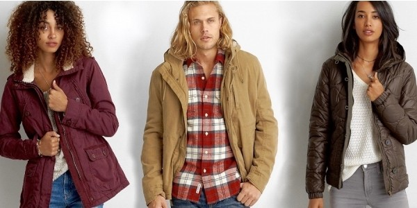 All Clearance Under $20 (Including Reg. $200 Coats) @ American Eagle Outfitters