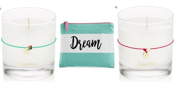 Calvin Klein Candles $10 Shipped + Free Cosmetic Pouch @ Macy's