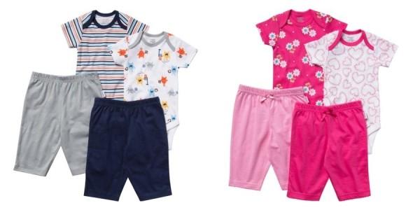 Onesies Brand 4-Piece Newborn Layette Sets $4 @ Walmart