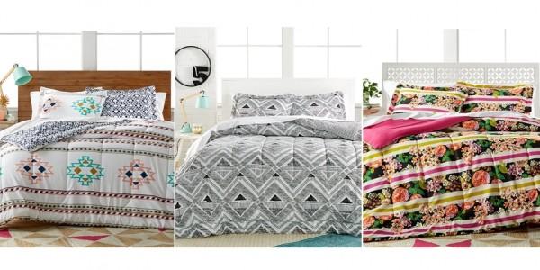 3 Piece Comforter Sets $17.99 @ Macy's