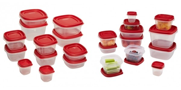 24-Piece Rubbermaid Container Sets $10 @ Walmart