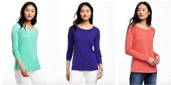 Half Off Sweaters + Extra 30% Off = Women's Pullovers just $8 @ Old Navy