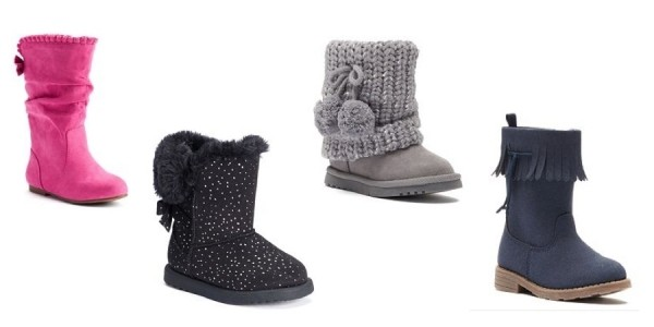 Stacking Promos + Baby Sale = Toddler Boots $9 Each @ Kohl's