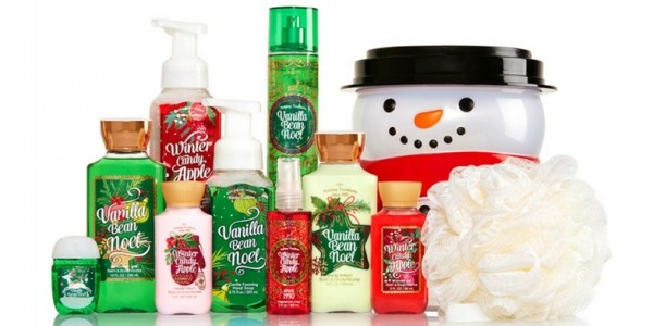 Snowman Bucket Full of 10 Favorite Products Just $35 @ Bath & Body Works