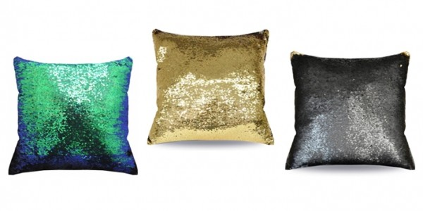 Mainstays Reversible Sequin Mermaid Pillows $10 @ Walmart