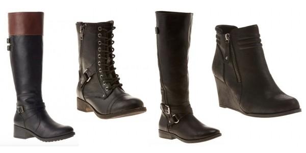 All Styles Women's Rampage Boots $22 @ BonTon