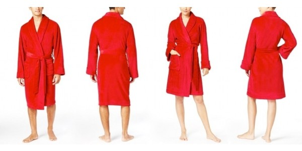 His & Hers Super Soft Short Robes just $7 Each @ Macy's