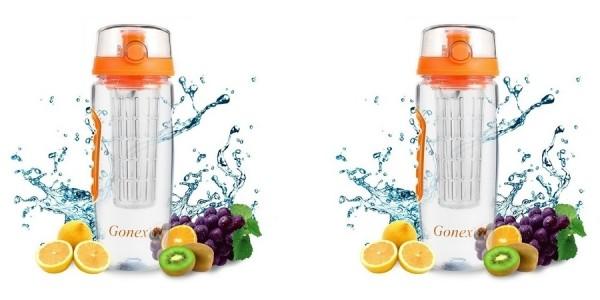 Gonex 32 oz Fruit Infuser Water Bottle $7 @ Amazon