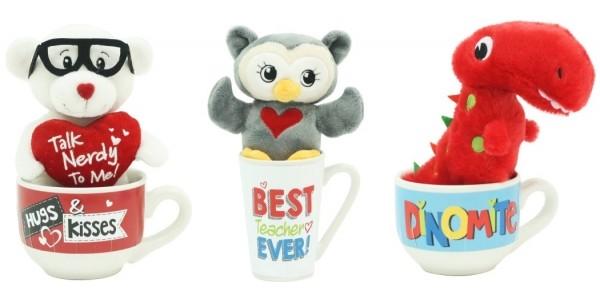 Valentine Plush In Mug Set $4.88 @ Walmart