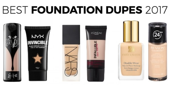 The Best Foundation Dupes for 2017