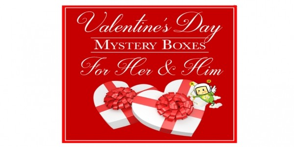 Valentines Day Mystery Box $29.99 @ GearXS