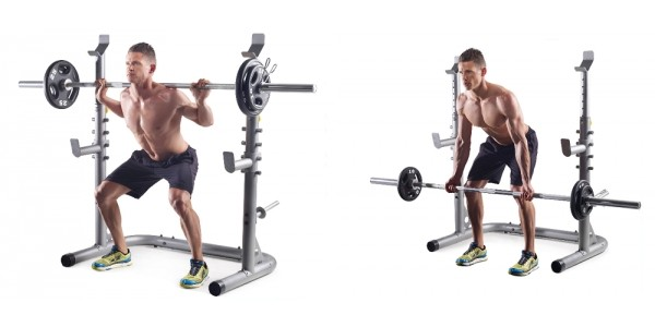 Gold's Gym Olympic Workout Rack $87 @ Walmart