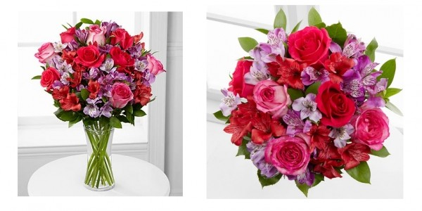 Romancing The Heart Bouquet & Vase $34.99 @ FTD