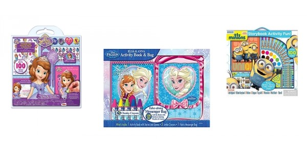 Character Art & Activity Sets $2.50 @ Kmart