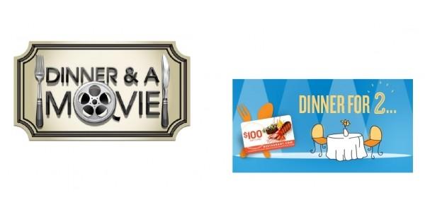 2 Movie Tickets + $100 Restaurant Gift Card $30 @ Restaurant.com