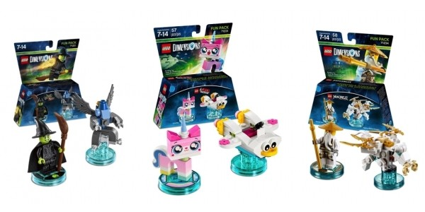 LEGO Dimensions Fun Packs $2 @ Hollar