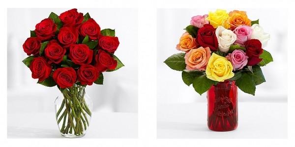 1 Dozen Roses With Vase $40 @ ProFlowers