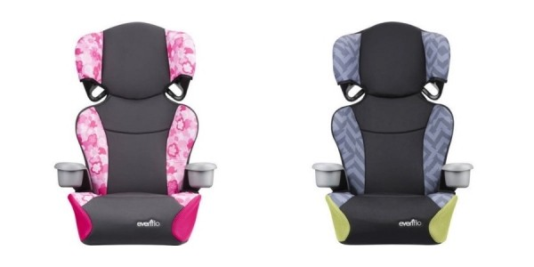 Evenflo Big Kid Sport High Back to No-Back Booster Seat $23 @ Walmart