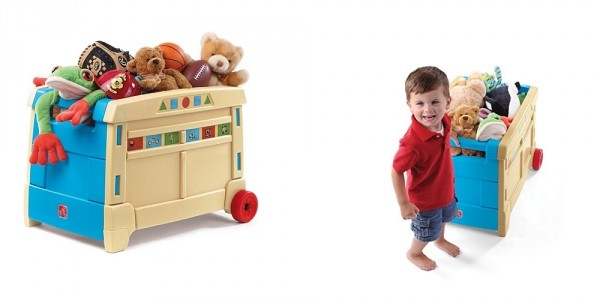 Step2 Lift & Roll Toy Box From $34 @ Kohls