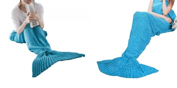 Large Mermaid Tail Blanket $9.99 @ Amazon