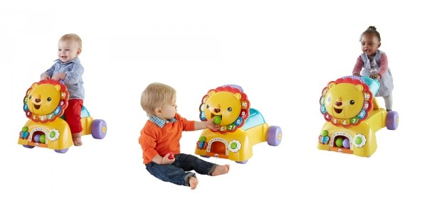 Fisher-Price 3-in-1 Sit, Stride & Ride Lion $26 @ Amazon