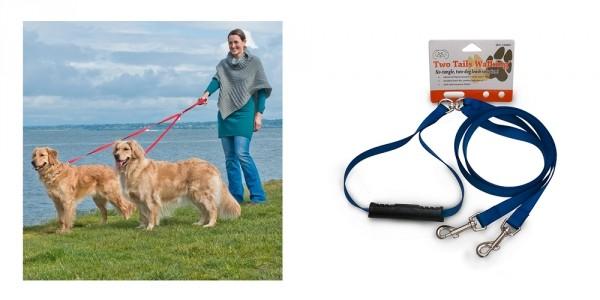 No-Tangle Dual Dog Leash $5.99 @ Tanga