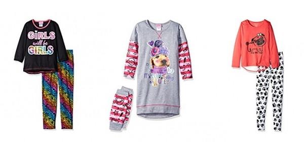 Girls Pajama's From $2.72 @ Amazon