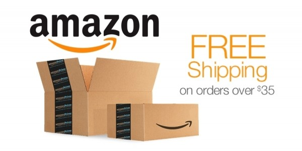 Amazon Now Offers Free Shipping With All Orders of $35 Or More!