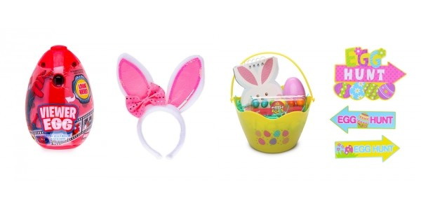 Easter Basket Stuffers And Decorations From $1 @ Hollar